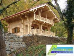 Discount case de vacanta din lemn rotund for Case din lemn pret 5000 euro