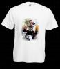 Promotie: Tricouri albe personalizate