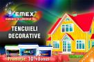"Promotie: 10% bonus la tencuieli decorative ""Emex"""